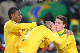 Brazilia - Coreea de Nord, scor 2-1, in grupa G a Cupei Mondiale