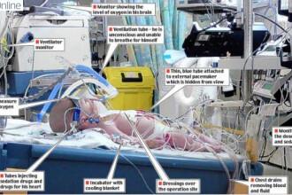 Incredibil! Bebelus inghetat de medici 4 zile, ca sa ii salveze viata