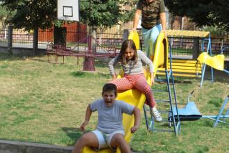 Vara in noiembrie! Sport in aer liber, cursuri citite pe iarba si gratare