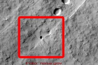 Uimitor! Niste pusti au descoperit o pestera pe Marte