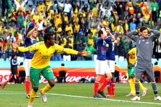 Uruguay si Mexic, calificate in optimi. Africa de Sud si Franta, eliminate