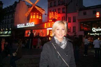 Dana Rogoz a vazut-o pe Audrey Tautou, alias Amelie, la Paris