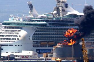 S-a dezlantuit iadul langa croazierele de lux. 15 raniti in infernul din Gibraltar