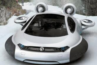 Volkswagen-ul zburator. Masina viitorului, creata de un chinez. GALERIE FOTO