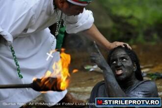 Cum scoate Diavolul din oameni un columbian. Ritual de exorcizare necenzurat