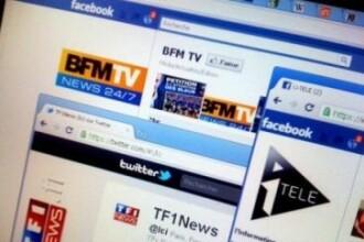 Facebook si Twitter, interzise la TV in Franta. In ce conditii se vor putea folosi cele doua marci