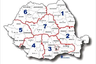 Victor Ponta: Varianta impartirii Romaniei in opt regiuni nu e cea mai buna, dar e cea mai posibila