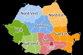 Cum ar arata Romania cu doar 8 judete. Ne vom schimba cu totii buletinele si numerele de la masini