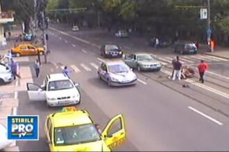 VIDEO. Batrana aruncata in aer pe trecere de o masina care ducea mireasa la nunta a murit