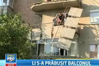 Doua femei sunt ranite grav, dupa ce au cazut de la etajul 4. S-a rupt balustrada balconului cu ele