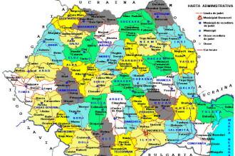 Romania se schimba. Raman 41 de judete, dar tara se reorganizeaza. Cum te influenteaza modificarile