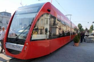 Tramvaie noi pentru aradeni, cumparate cu milioane de euro imprumutati de la BERD
