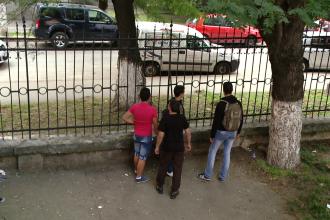O eleva de 16 ani din Timisoara a invatat intr-un mod dureros ca nu e bine sa chiuleasca de la ore