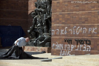 FOTO. Mesaj socant in Muzeul din Ierusalim: