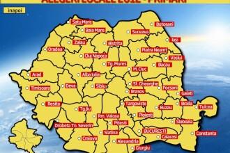Rezultate finale alegeri locale 2012. HARTA INTERACTIVA: cum arata Romania dupa alegeri