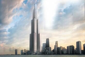 Orasul din cer. Chinezii vor sa construiasca un turn de 220 de etaje in numai 90 de zile