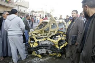 Al-Qaida a revendicat doua atentate din Irak cu 72 de morti