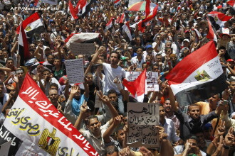 Mohammed Morsi, candidatul Fratilor Musulmani, a castigat prezidentialele din Egipt