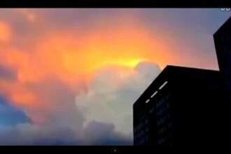 Fenomen bizar in China. Oamenii au crezut ca vine sfarsitul lumii. VIDEO