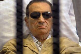 Hosni Mubarak, fostul presedinte egiptean, a fost condamnat la trei ani de inchisoare