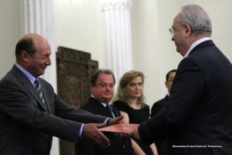 Hasotti a depus juramantul de investitura in functia de ministru al Culturii. Ce i-a spus Basescu