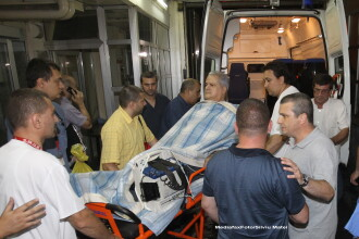 Adrian Nastase, internat in sectia de terapie intensiva a Penitenciarului Rahova cu un alt detinut