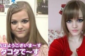 FOTO. Secretul fetelor-Barbie. Care este asemanarea dintre cele doua adolescente
