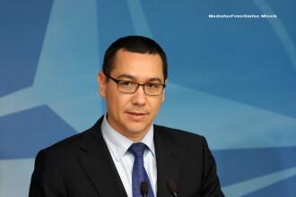 Ponta anunta ca delegatia FMI si-a amanat vizita dupa referendumul pentru demiterea presedintelui