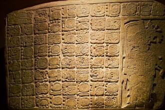 O noua inscriptie mayasa sustine ipoteza unui