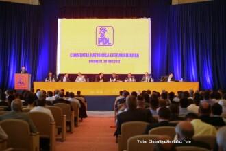 Vasile Blaga, noul presedinte PDL. Lista noilor prim-vicepresedinti si vicepresedinti ai partidului