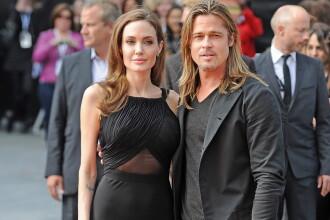 Angelina Jolie, la prima aparitie publica pe covorul rosu dupa operatia de dubla mastectomie. VIDEO