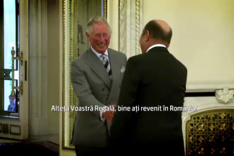 Printul Charles, primit de Traian Basescu: