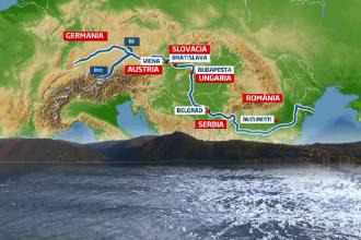 Romania, amenintata de viitura de pe Dunare. Ar putea depasi cotele de aparare saptamana viitoare