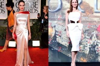 Angelina Jolie, inainte si dupa operatie. Cum a aratat actrita pe covorul rosu in Germania