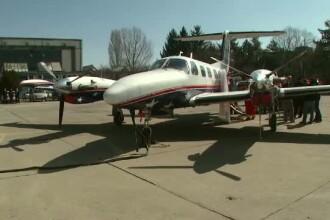 De ce zace nefolosit un avion performant, desi organele sunt transportate cu