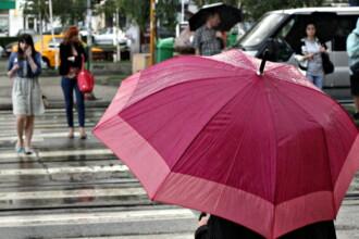 Maxime de 17 grade si precipitatii in mai multe zone ale tarii. Prognoza meteo pentru weekend