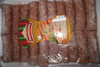 Kaufland: Micii gasiti cu salmonella sunt din carne de pasare si se vand foarte putin