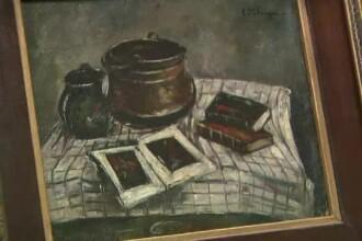Original sau fals? Un tablou atribuit pictorului Petrascu a provocat scandal la o casa de licitatii