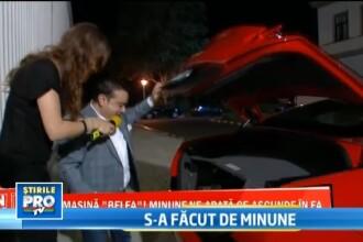 Adrian Minune si-a facut praf Ferrari-ul, dupa un accident produs in Capitala