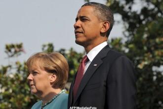 Dupa scandalul de spionaj, Obama o invita pe Merkel la Casa Alba. Ce a transmis presedintele SUA
