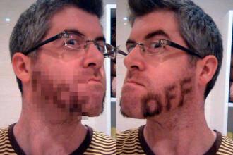 Cum a indraznit acest barbat sa se barbiereasca. A ajuns vedeta pe internet