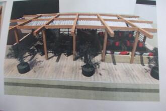 Liber la terase pe spatiile verzi. Primaria Timisoara modifica o hotarare de Consiliu Local