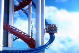 Construiesc un rollercoaster atat de inalt, incat au nevoie de aprobarea Federatiei Aviatice