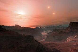 Extraterestrii ar putea trai pe trei