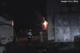 Pericol de explozie la un depozit din Oradea dupa ce un incendiu a izbucnit la o magazie