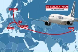 Zborurile TAROM spre China, amanate pentru luna august. Cat va costa un bilet pentru un drum Bucuresti - Beijing