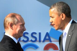 CRIZA IN UCRAINA. Putin critica SUA: Au baze militare peste tot in lume. Obama condamna agresiunea Rusiei