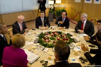 Ministrul german de Externe si-a exprimat speranta ca G7 va redeveni intr-o zi G8, prin reacceptarea Rusiei