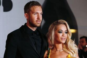 DJ-ul Calvin Harris si-a anuntat pe internet despartirea de cantareata Rita Ora.