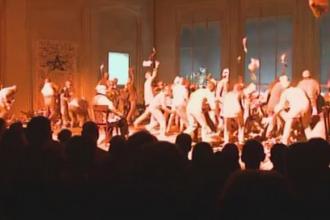 Sibiul a devenit kilometrul zero al culturii. Festivalul International de Teatru a continuat cu piesa